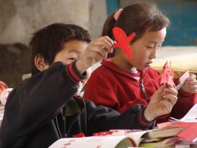延川教育|延川中小学剪纸艺术教育项目