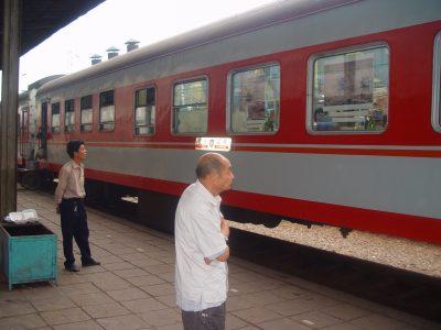 第七站:贵昆列车上